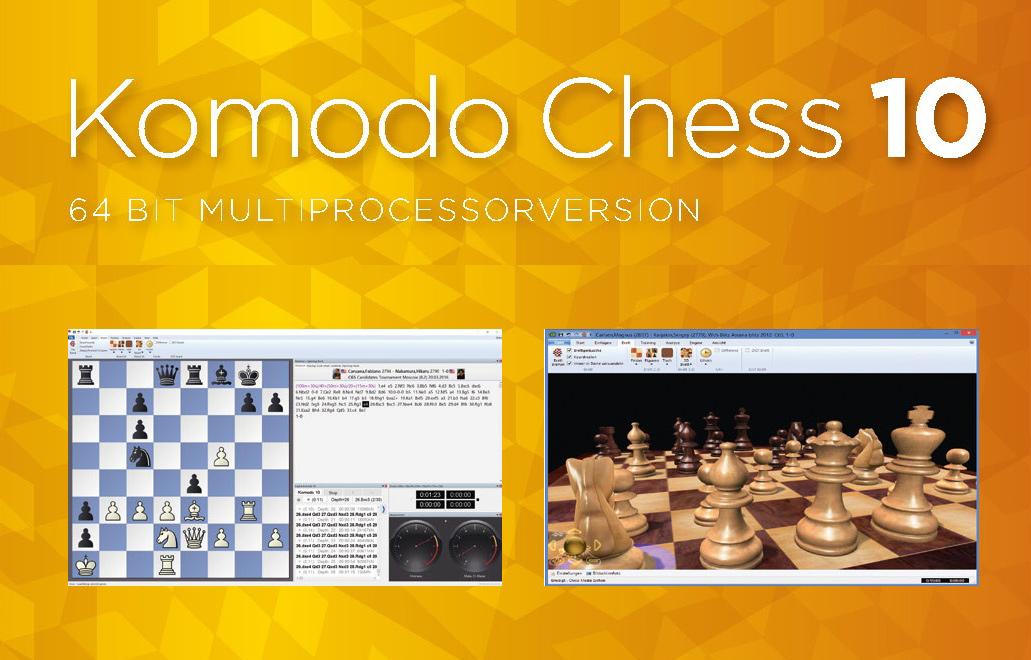 دانلود نرم افزار شطرنج قدرتمند کمودو  Komodo 10